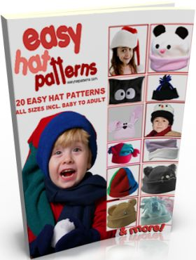 easy hat patterns